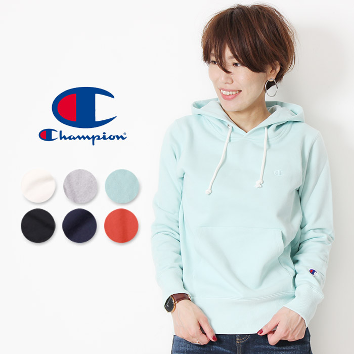 Champion champion in pullover sweatshirts hoodies [LotCW G114] women's Sweatshirts pullover Womens tops sweat long sleeves back brushed Champion