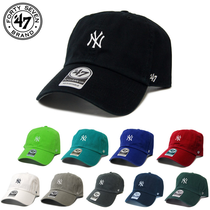 8f98e074f25 47brand forty seven brand NY little logo cap Yankees BaseRunner 47 CLEAN UP   Lot B-BSRNR17GWS  FORTY SEVEN 47 brand New York Yankees CAP forty seven  little ...