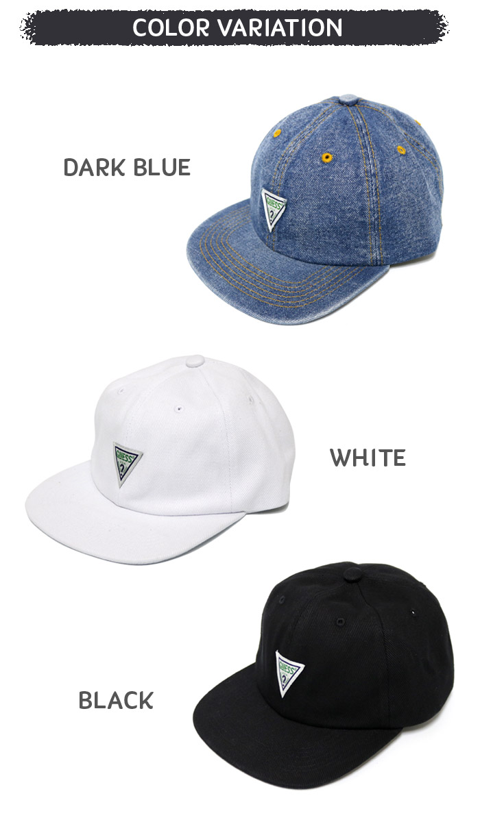 GUESS GREEN LABEL TRIANGLE LOGO CAP Originals ゲスグリーンレーベルトライアングルロゴキャップ hat   Lot GRFW17-014  men gap Dis kids street Shin pull ... c8fe9b6f70fb