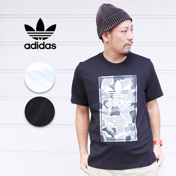58dc0f881 JXT-style: adidas Adidas duck label T-shirt CAMO LABEL [Lot/DH4768 ...