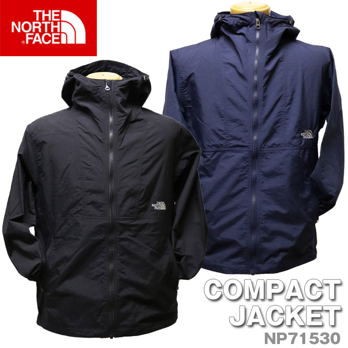 bed6c0024 THE NORTH FACE North Face COMPACT JACKET compact jacket zip up outer light  outer mountain parka [Lot/NP71530] men water repellency mountain outdoor ...