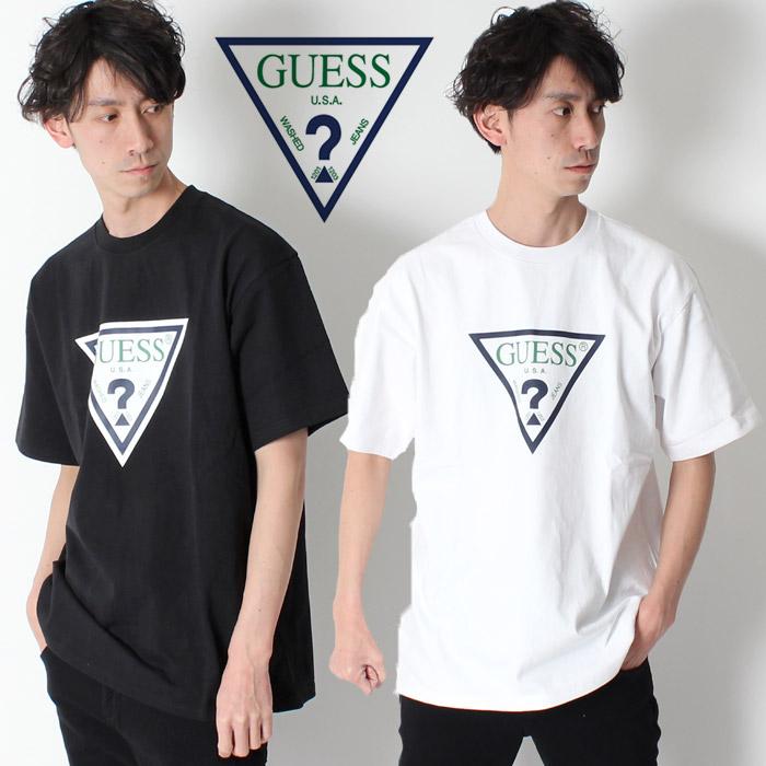 38891a4628ac GUESS GREEN LABEL TRIANGLE LOGO TEE ゲスグリーンレーベルトライアングルロゴ T-shirt [Lot ...