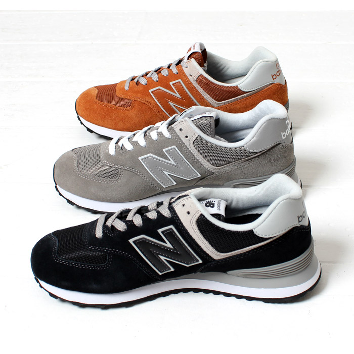 wholesale dealer 566d3 bac2d The town use that NEW BALANCE 574 New Balance classical music model running  shoes sneakers [Lot/ML574] men gap fatty tuna entry slim popularity color  ...