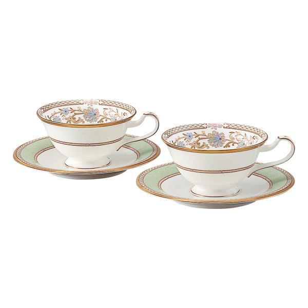 食器 ノリタケ YOSHINO ヨシノ ティー・コーヒー碗皿ペア のし 包装 ラッピング メッセージカード 無料 ギフト プレゼント お祝い 内祝い お返し