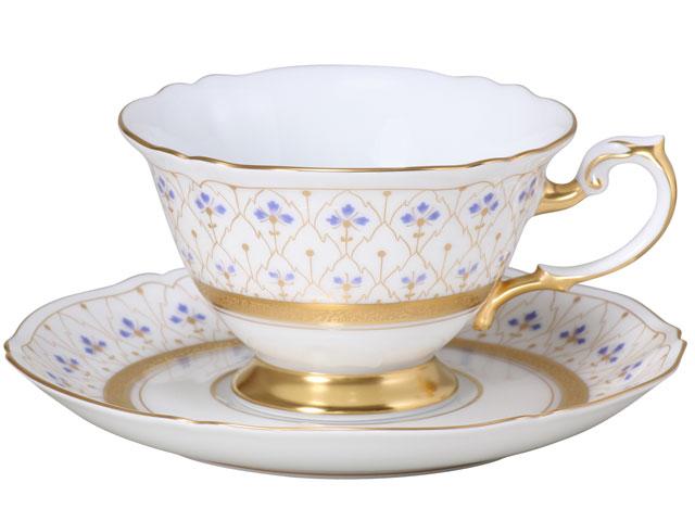 国内最高級洋食器メーカー 大倉陶園 スイートメモリー ティー・コーヒー碗皿 結婚祝い 新築祝い 記念品 食器 セット