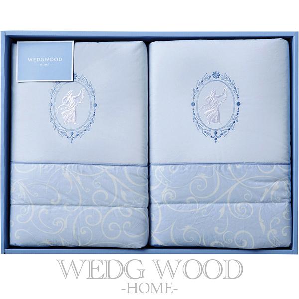 WEDGWOOD ウェッジウッド ジャスパー 羽毛肌掛けふとん 2P <KE08305011> (プレゼント/ギフト/GIFT) のし 包装 ラッピング メッセージカード 無料