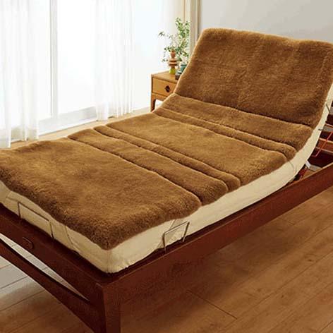 介護用ムートンシーツ介護ベッド最適サイズ【サイズ:約91x191cm】