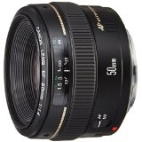 送料無料!Canon 単焦点レンズ EF50mm F1.4 USM フルサイズ対応