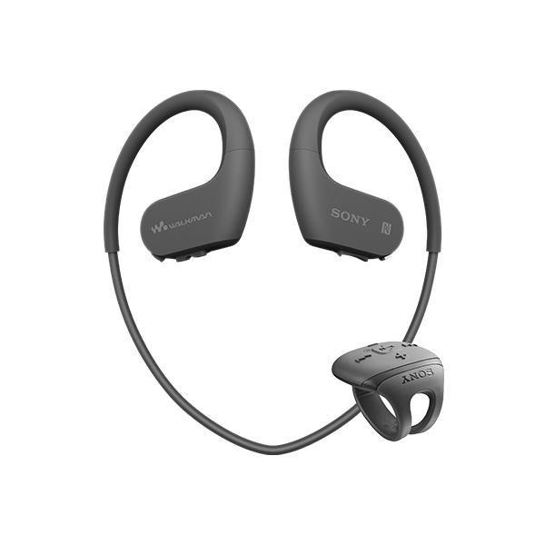 送料無料!ソニー SONY ヘッドホン一体型ウォークマン Wシリーズ NW-WS625 : 16GB スポーツ用 Bluetooth対応 防水/海水/防塵/耐寒熱性能搭載 外音取込み機能搭載 リングタイプリモコン付属 ブラック NW-WS625 B