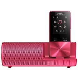 送料無料!ソニー SONY ウォークマン Sシリーズ 16GB NW-S315K : Bluetooth対応 最大52時間連続再生 イヤホン/スピーカー付属 2017年モデル ビビッドピンク NW-S315K P