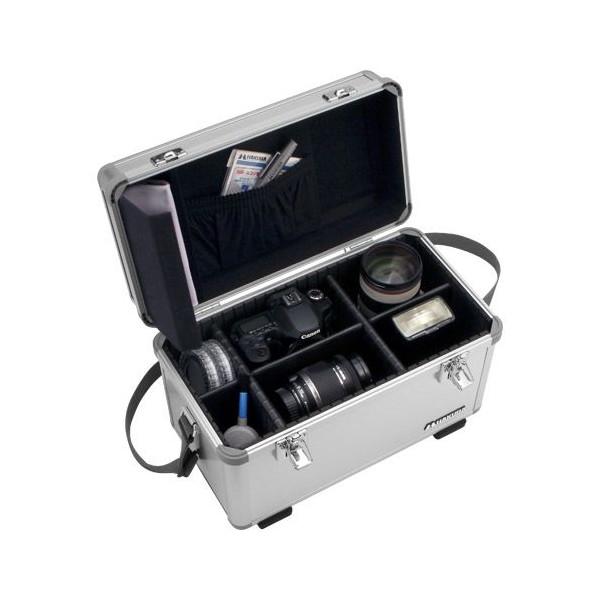送料無料!HAKUBA ハードケース X-900 アルミケース 18L シルバー X-900