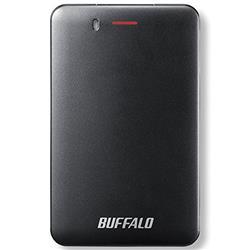 送料無料!バッファロー SSD-PM240U3A-B USB3.1ポータブルSSD 240GB