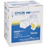 送料無料!EPSON 環境推進トナー LPC4T9YV イエロー 6,400ページ