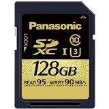 送料無料!パナソニック 128GB SDXC UHS-I メモリーカード RP-SDUC128JK