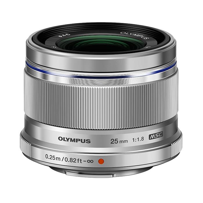 送料無料!OLYMPUS 単焦点レンズ M.ZUIKO DIGITAL 25mm F1.8 SLV
