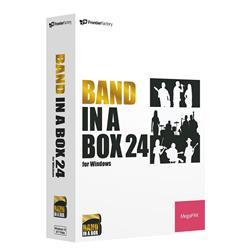 送料無料!PG Music Band-in-a-Box 24 for Windows MegaPAK
