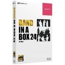 送料無料!PG Music Band-in-a-Box 24 for Mac MegaPAK