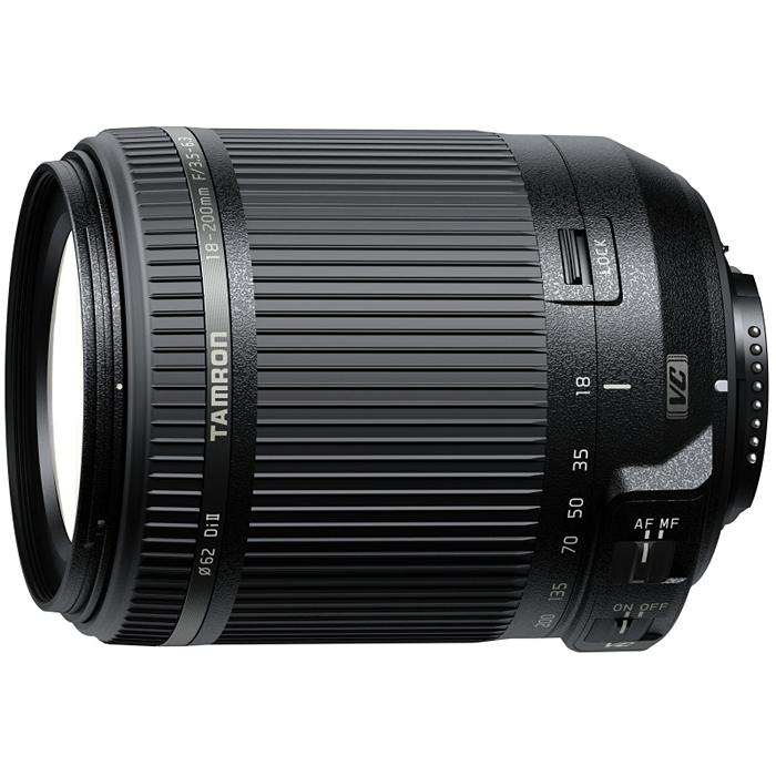 送料無料!TAMRON 高倍率ズームレンズ 18-200mm F3.5-6.3 DiII VC ニコン用 APS-C専用 B018N