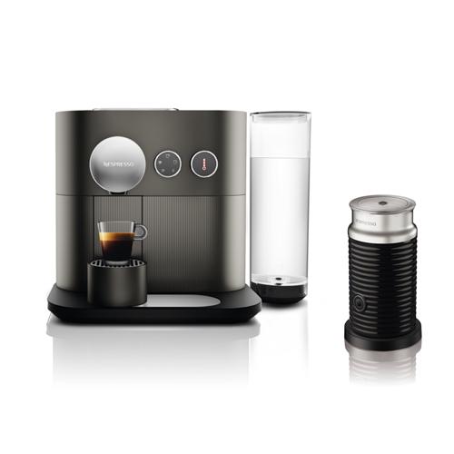 送料無料!ネスプレッソ ネスプレッソコーヒーメーカー バンドルセット グレーNespresso エキスパート D80GR-A3B