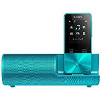 送料無料!ソニー SONY ウォークマン Sシリーズ 4GB NW-S313K : Bluetooth対応 最大52時間連続再生 イヤホン/スピーカー付属 2017年モデル ブルー NW-S313K L
