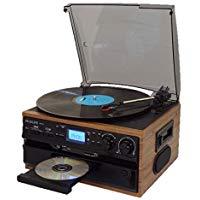 送料無料!レコード/CD/ラジオ&カセット搭載多機能プレーヤー RTC-29