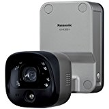 送料無料!パナソニック(Panasonic) ホームネットワークシステム 屋外バッテリーカメラ KX-HC300S-H