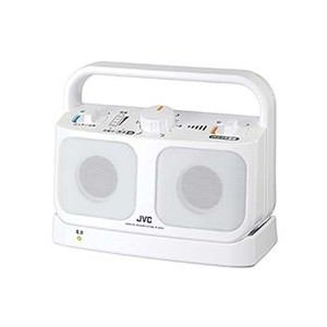 送料無料!JVC テレビ用ワイヤレススピーカーシステム 「みみ楽」 ホワイト SP-A850-W