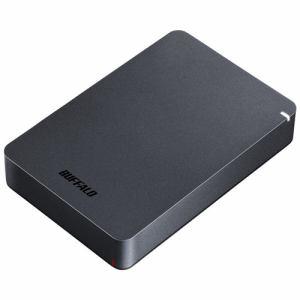 送料無料!バッファロー HD-PGF4.0U3-GBKA ポータブルHDD ブラック 4TB