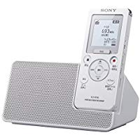 送料無料!ソニー SONY ポータブルラジオICレコーダー 16GB FM/AMラジオ予約録音機能搭載 リニアPCM録音対応 スピーカークレードル付属 ICZ-R110