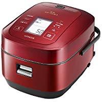 送料無料!日立 圧力&スチームIHジャー炊飯器(5.5合炊き) メタリックレッドHITACHI 圧力スチーム炊き ふっくら御膳 RZ-AW3000M-R