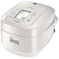 送料無料!日立 圧力&スチームIHジャー炊飯器(5.5合炊き) パールホワイトHITACHI 圧力スチーム炊き ふっくら御膳 RZ-AW3000M-W