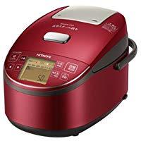 送料無料!日立 圧力スチームIHジャー炊飯器(5.5合炊き) メタリックレッドHITACHI 圧力スチーム炊き ふっくら御膳 RZ-BV100M-R