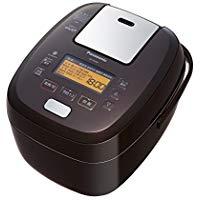 送料無料!パナソニック 5.5合 炊飯器 圧力IH式 おどり炊き ブラウン SR-PA108-T