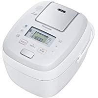 送料無料!パナソニック 1升 炊飯器 圧力IH式 おどり炊き ホワイト SR-PB188-W