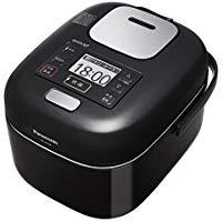 送料無料!パナソニック 3合 炊飯器 圧力IH式 Wおどり炊き Jコンセプト シャインブラック SR-JW058-KK