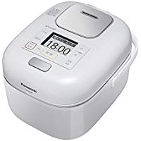 送料無料!パナソニック 3合 炊飯器 圧力IH式 Wおどり炊き Jコンセプト 豊穣ホワイト SR-JW058-W