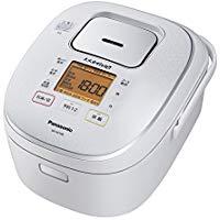 送料無料!パナソニック 5.5合 炊飯器 IH式 大火力おどり炊き スノーホワイト SR-HX108-W