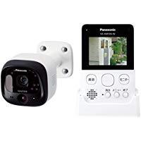 送料無料!Panasonic 防犯カメラ スマ@ホーム モニター付き屋外カメラ ホワイト VS-HC105-W