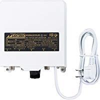 送料無料!日本アンテナ 3.2GHz(4K・8K放送) に対応 利得切換式屋外用電源着脱型ブースター NSB42DSUE-BP