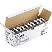 送料無料!キングジム テプラPRO テープカートリッジ エコパック10個入 9mm 白 SS9K-10PN