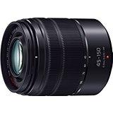 送料無料!Panasonic マイクロフォーサーズ用 交換レンズ 望遠ズーム LUMIX G VARIO 45-150mm F4.0-5.6 ASPH. MEGA O.I.S. ブラック H-FS45150-KA【4549077412096】