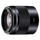 送料無料!SONY E 50mm F1.8 OSS※Eマウント用レンズ(ソニー ミラーレス一眼用) SEL50F18-B