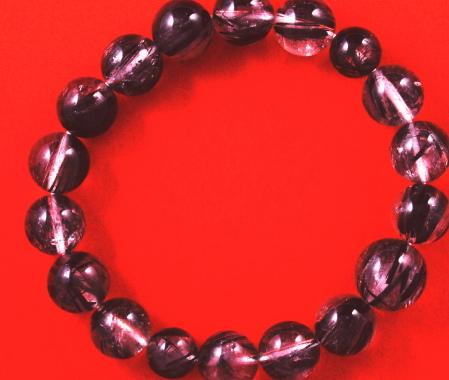 無料ラッピング 敬老の日 お誕生日 内祝い ギフト 定番スタイル 格安 お返し 黒ルチル12ミリ 数珠 ストレート 水晶 天然石 パワーストーン ブレスレット