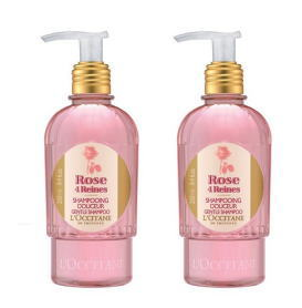 L'Occitane rose Shampoo 250 ml 2 piece set