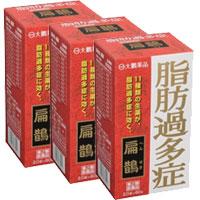 【第2類医薬品】【送料無料】【大鵬薬品】扁鵲(へんせき・ヘンセキ) 60包×3箱セット【脂肪過多症】