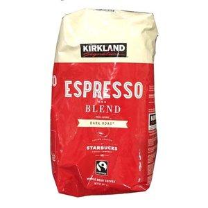 税込3 980円以上で送料無料 コーヒー豆 大容量サイズ STARBUCKS KIRKLAND スターバックスローストエスプレッソ 新作通販 costco 907g コストコ通販 コストコ マーケティング