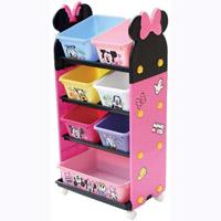 【送料無料】【錦化成】ミニーマウス トールトイステーション ピンク【P-fri】【おもちゃ箱】【おもちゃ収納】