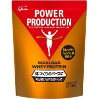 【江崎グリコ】パワープロダクションMAXLOAD ホエイプロテイン 3.5kg【チョコレート味】【プロテイン】【マックスロード】