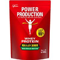 【江崎グリコ】パワープロダクション ホエイ プロテインプレーン味 800g【プロテイン】