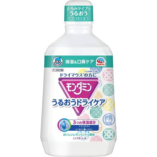 しっかり保湿 日本産 口臭ケア アース製薬 国産品 ヘルパータスケ モンダミン 口腔ケア うるおうドライケア ドライマウス 1080mL